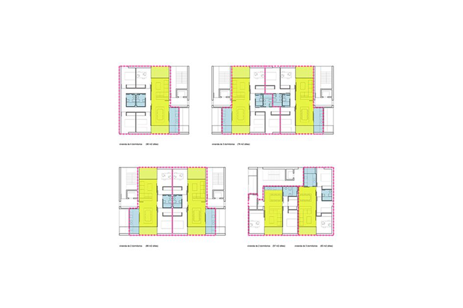 alicante viviendas protección pública concurso esquema
