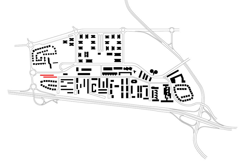 plano emplazamiento paterna viviendas protección pública mas del rosari