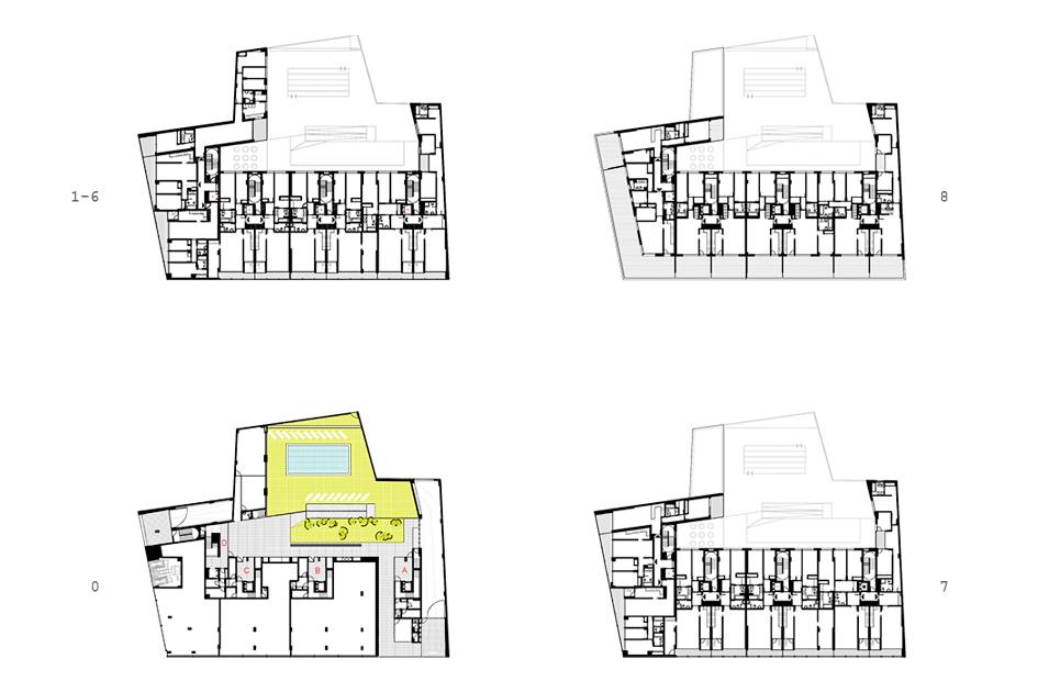 68 viviendas en valencia layetana orts-trullenque