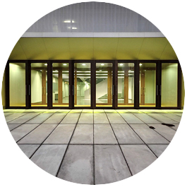 exterior acceso centro de formación alicante