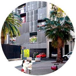 imagen exterior viviendas en valencia puerto