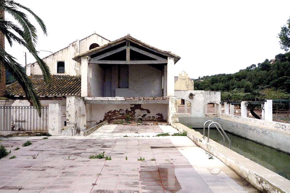 mas les lloses rehabilitación nave balsa ermita orts-trullenque